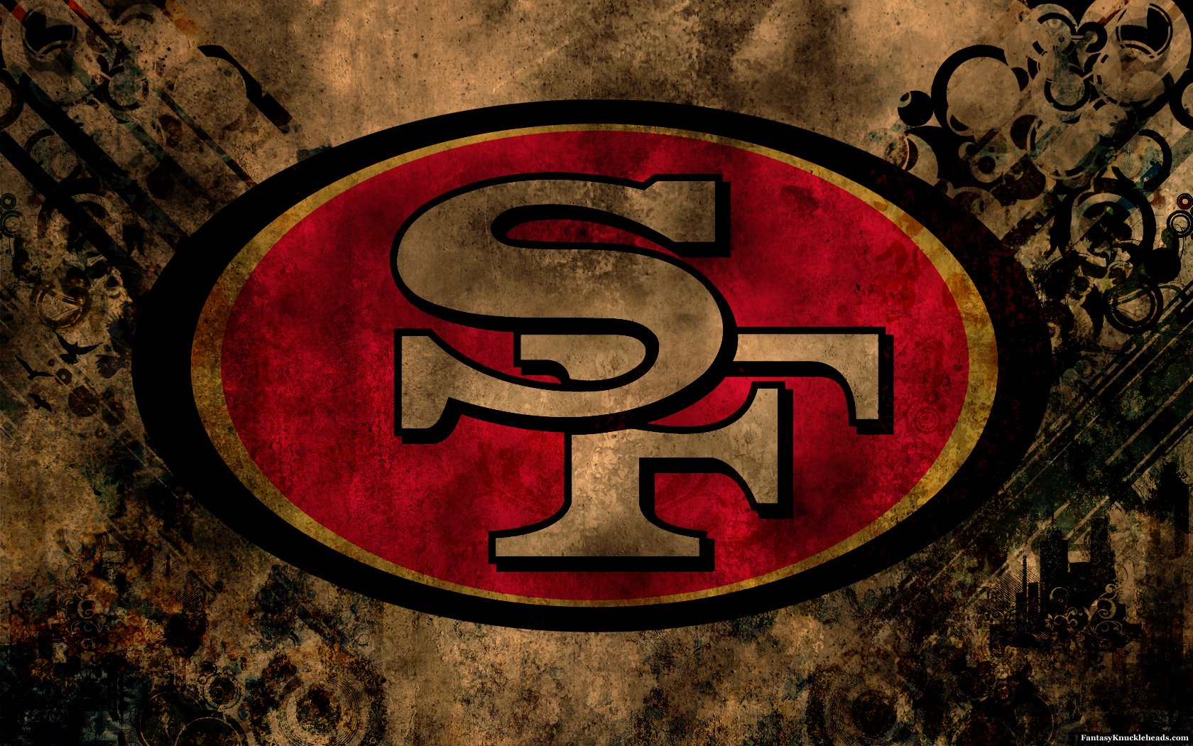49ers logo iphone wallpaper pictures to pin on pinterest