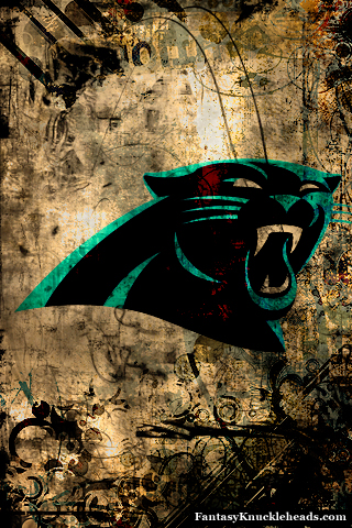 Nfl team wallpapers for iphone android and other smartphones - Carolina panthers mobile wallpaper ...