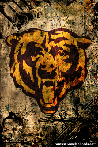 Nfl team wallpapers for iphone android and other smartphones - Chicago bears phone wallpaper ...
