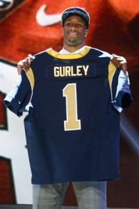 Todd Gurley will hope to make his debut and long-awaited return from a knee injury in week 3.