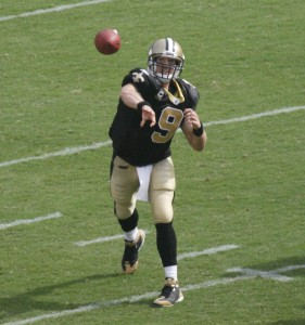 Drew Brees will miss t he Saints' week 3 matchup with Carolina.