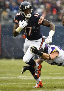 Alshon Jeffery has missed Chicago's last two games.