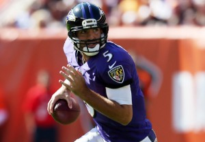 Flacco has not really busted out yet, but it is coming.