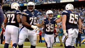 The Chargers are pumped to have Woodhead back, get on board for PPR goodness.