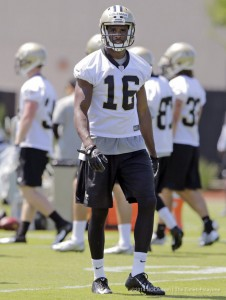 Brandon Coleman has stood out in practice with the Saints over the last two offseasons.