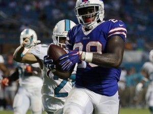 Karlos Williams may see an uptick in carries as Shady McCoy is still sore.