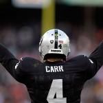 Raiders Derek Carr Probable versus Ravens