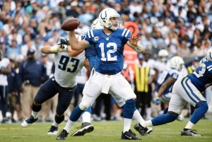 Andrew Luck should be able to return from his shoulder injury in week 6.