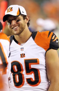 Eifert can put up crazy numbers when A.J. Green doesn't gobble up the targets.