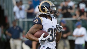 Todd Gurley is as good as advertised. Expect big numbers again.