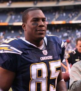 Welcome back, Antonio Gates! The veteran found the end zone in week 5 upon his return from a 4-game suspension.