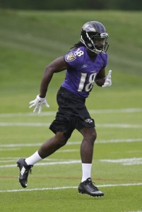 Perriman is finally starting to flash that potential that the Ravens saw when they drafted him.