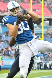 Coby Fleener is becoming a usable tight end.