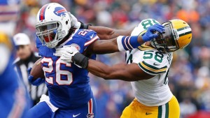 Boobie Dixon looks to fill LeSean McCoy's big shoes this Sunday versus the Tennessee Titans.