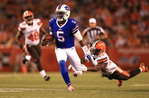 Tyrod Taylor should be looking Sammy Watkins' way early and often in week 17.
