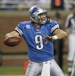 Megatron retired, but Stafford still has a lot of weapons.