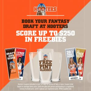 Hooters Fantasy Football Draft Party