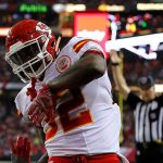 Spencer Ware touchdown celebration