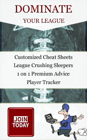 Custom Online Draft Cheat Sheets 2018